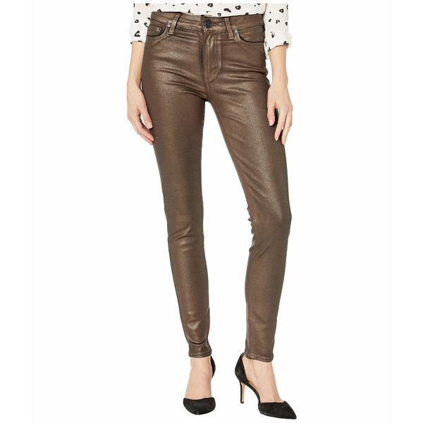 ペイジ レディース デニムパンツ ボトムス Hoxton Ultra Skinny Jeans in Pearlized Copper Coating Pearlized Copper Coating