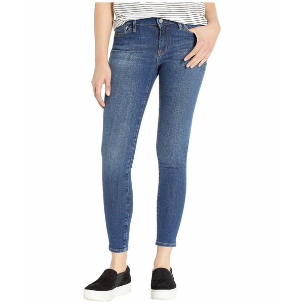 マーヴィ ジーンズ レディース デニムパンツ ボトムス Adriana Mid-Rise Super Skinny Jeans in Indigo Supersoft Indigo Supersoft