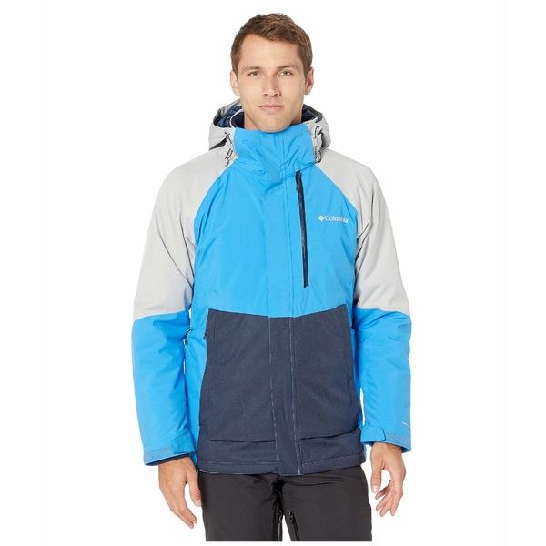 コロンビア メンズ コート アウター Wildside Jacket Azure Blue/Columbia Grey Heather/Collegiate Navy Heather