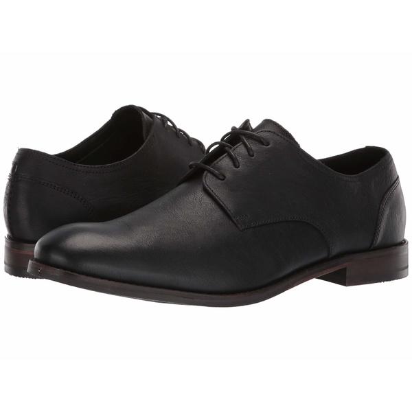 【メーカー公式ショップ】 クラークス メンズ ドレスシューズ シューズ Flow Plain Black Leather, LA KONECT 44998a5a