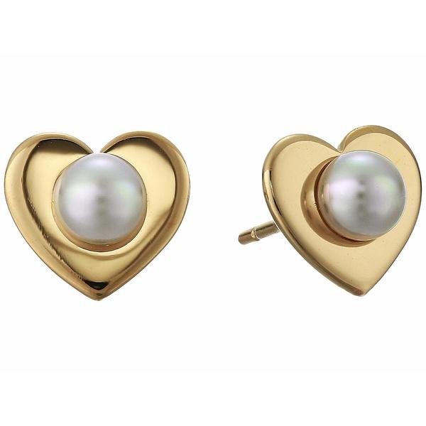 マジョリカ レディース ピアス&イヤリング アクセサリー Monica Stud Earrings White 2