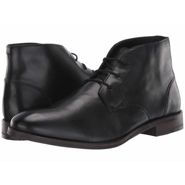 クラークス メンズ ブーツ&レインブーツ シューズ Flow Top Black Leather