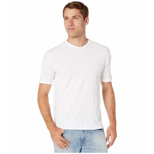 モッドドック メンズ シャツ トップス San Diego Short Sleeve V-Neck White