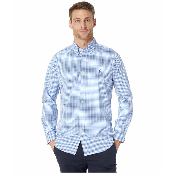 ラルフローレン メンズ シャツ トップス Classic Fit Performance Twill Shirt Multi