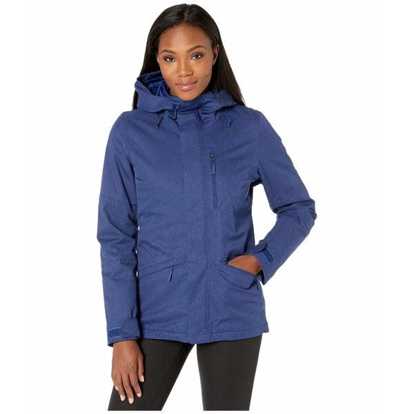 ノースフェイス レディース コート アウター Thermoball Eco Snow Triclimate Jacket Flag Blue Heather