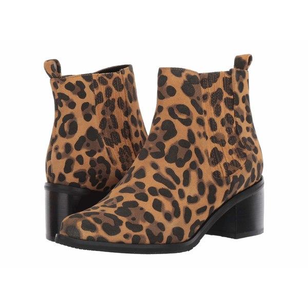 ブロンド レディース ブーツ&レインブーツ シューズ Elvina Waterproof Bootie Leopard Suede