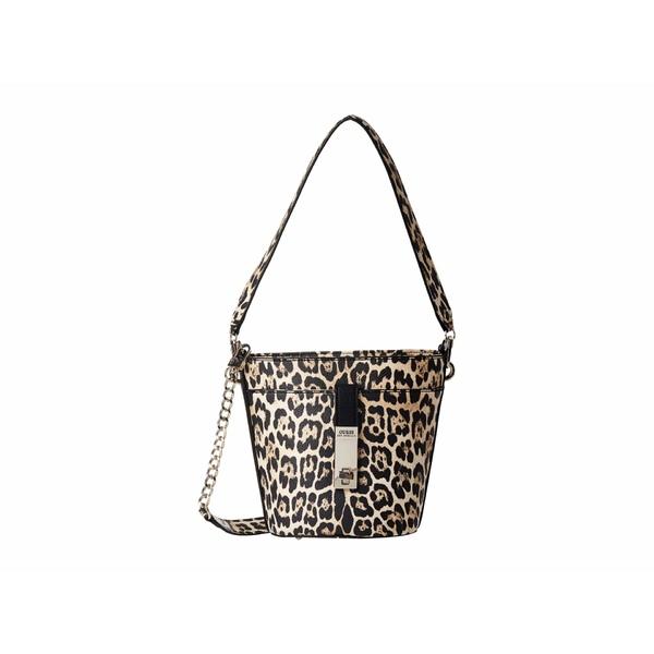 ゲス レディース ハンドバッグ バッグ Asher Convertible Bucket Leopard