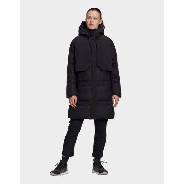 お気に入りの アディダス レディース ジャケット&ブルゾン アウター adidas Myshelter ColdRrdy Parka black, ナゴヤシ 323c771b