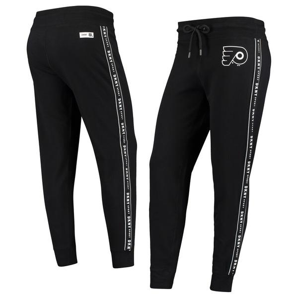 ダナキャラン レディース カジュアルパンツ ボトムス Philadelphia Flyers DKNY Sport Women's Brooke Jogger Pants Black
