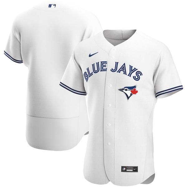 ナイキ メンズ シャツ トップス Toronto Blue Jays Nike Home 2020 Authentic Team Jersey White