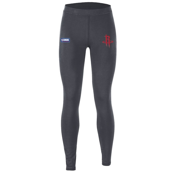 アンダーアーマー レディース カジュアルパンツ ボトムス Houston Rockets Under Armour Women's Combine Authentic Favorites Performance Leggings Heathered Charcoal
