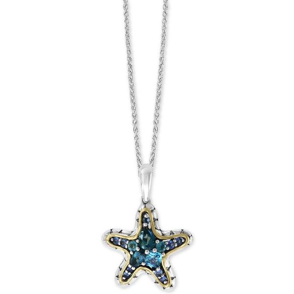 <title>エフィー コレクション レディース アクセサリー お得なキャンペーンを実施中 ネックレス チョーカー ペンダントトップ Blue Topaz 全商品無料サイズ交換 EFFY® Multi-Gemstone Starfish 18