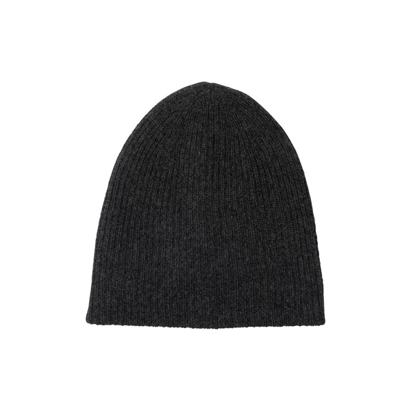 アミケール レディース お気に入り アクセサリー 豪華な 帽子 010CHR 全商品無料サイズ交換 Hat Cashmere Double Layer Knit Rib