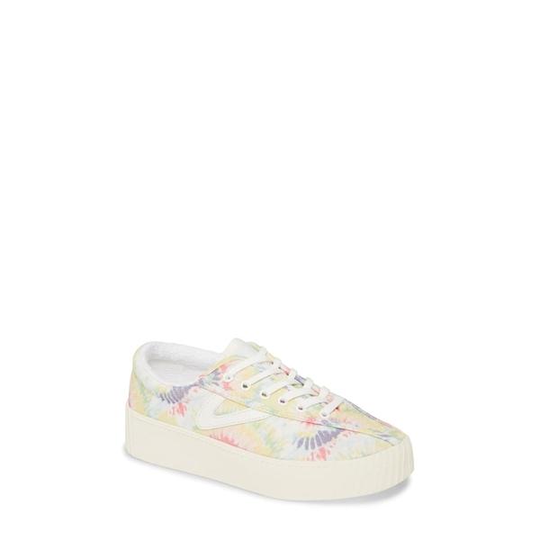トレトン レディース スニーカー シューズ Nylite 12 Bold Platform Sneaker Pastel Multi/ Vintage White