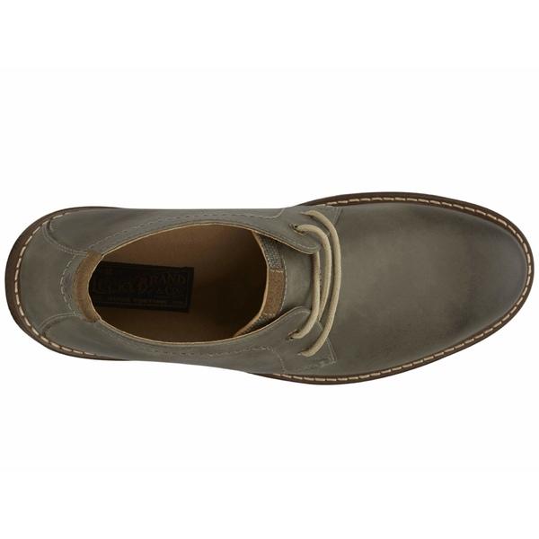 ラッキーブランド メンズ ブーツ&レインブーツ シューズ Boone Grey Snuffed Leather