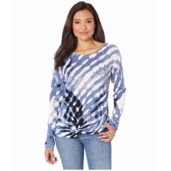 ニックプラスゾーイ レディース ニット&セーター アウター Petite Hazy Days Sweater Blue Multi