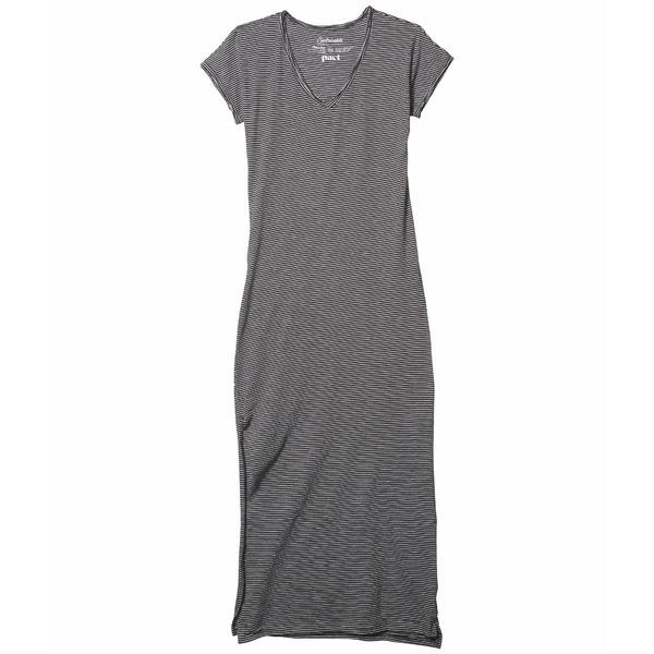 パクト レディース ワンピース トップス Organic Cotton Market Maxi Dress Small Stripe