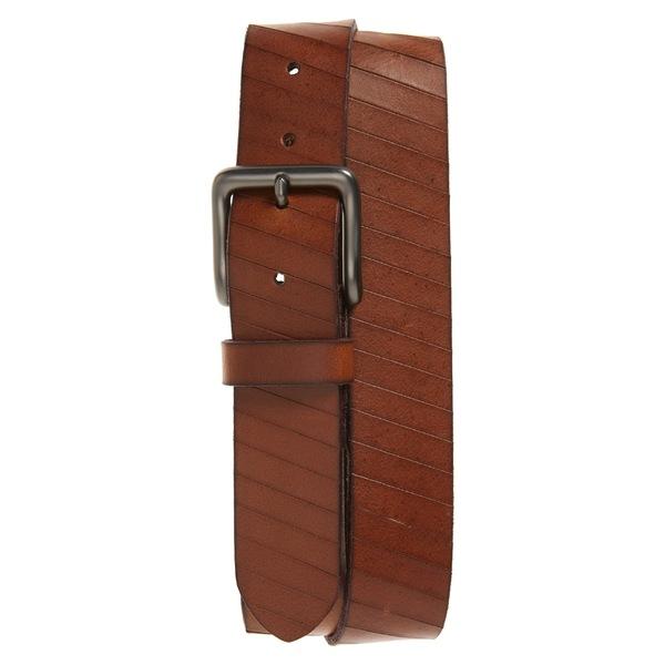 フライ メンズ ベルト アクセサリー Frye Laser Cut Leather Belt Tan
