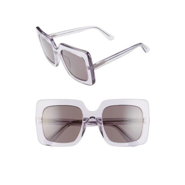 ディフ レディース サングラス&アイウェア アクセサリー DIFF Sasha 53mm Polarized Sunglasses Ultra Violet/ Grey