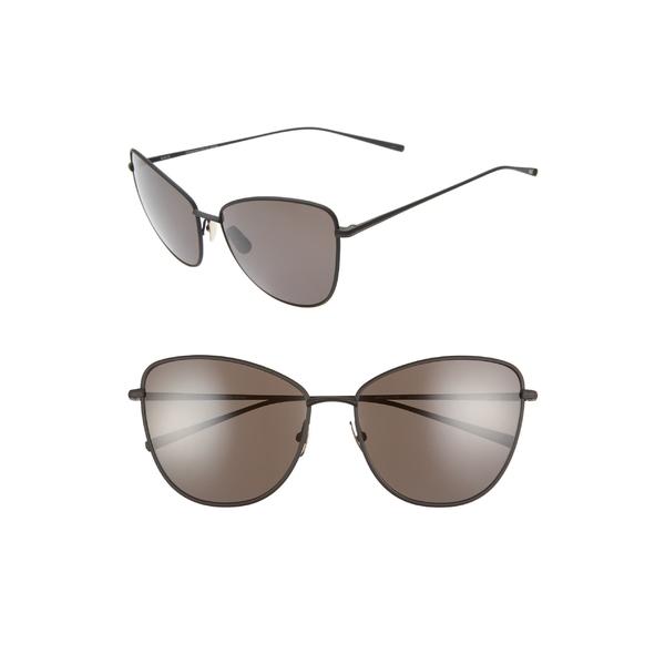 ソルト レディース アクセサリー サングラス&アイウェア Black/ Black 全商品無料サイズ交換 ソルト レディース サングラス&アイウェア アクセサリー SALT Sherri Ann 60mm Polarized Cat Eye Sunglasses Black/ Black