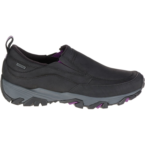 メレル レディース スニーカー シューズ Merrell Women's Coldpack Ice+ Moc Waterproof Winter Shoes Black