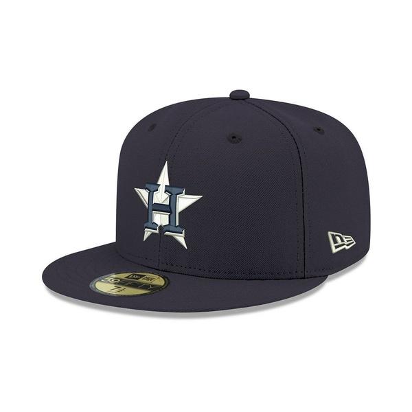 数量は多い  ニューエラ メンズ 帽子 アクセサリー Houston Astros Re-Dub 59FIFTY Fitted Cap Navy/White, ミタケムラ 7aacff66