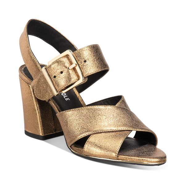 Kenneth Dress New サンダル Lauralynn Sandals レディース シューズ ケネスコール Coles Women's York Gold