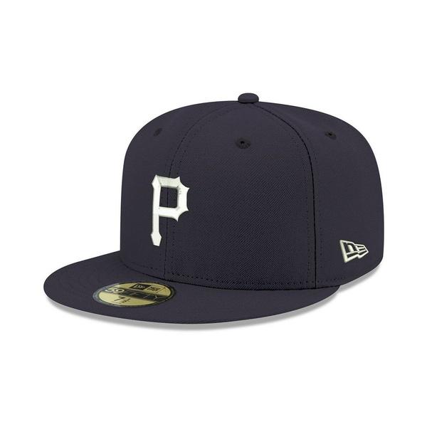 第一ネット ニューエラ メンズ 帽子 アクセサリー Pittsburgh Pirates Re-Dub 59FIFTY-FITTED Cap Navy/White, アトミックサイクル 05f97b56