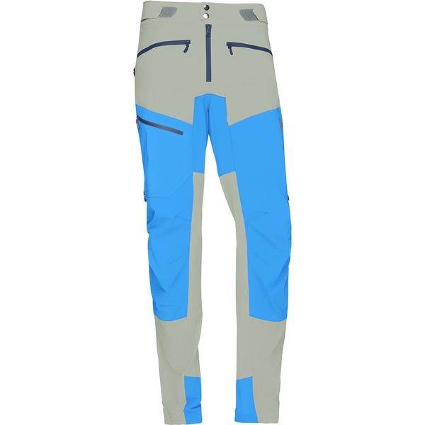 ノローナ メンズ カジュアルパンツ ボトムス Fjora Flex1 Softshell Pant Castor Grey/Hot Sapphire