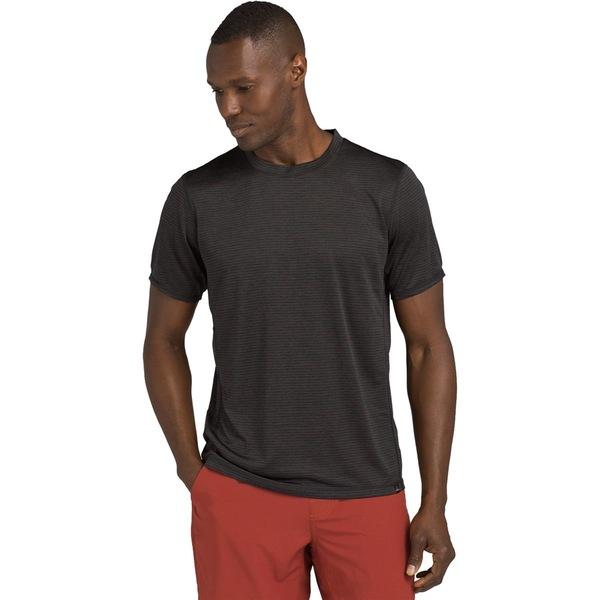 プラーナ メンズ シャツ トップス Hardesty Short-Sleeve Shirt Black Out