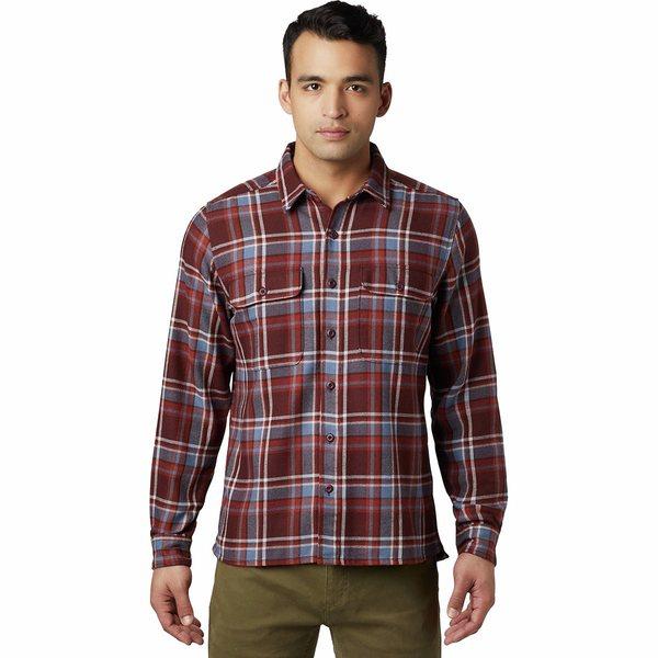 マウンテンハードウェア メンズ シャツ トップス トップス Woolchester Long-Sleeve シャツ Umber Shirt Dark Umber, ビネットShop:4543bec0 --- pecta.tj