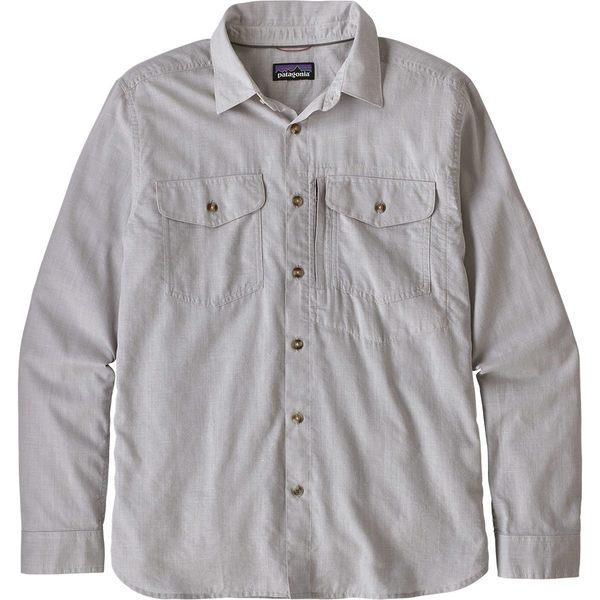 パタゴニア Long-Sleeve メンズ シャツ トップス Cayo Largo II Shirt Long-Sleeve Shirt Cayo Chambray/Feather Grey, イケダチョウ:bc270642 --- officewill.xsrv.jp