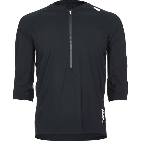 ピーオーシー メンズ サイクリング スポーツ Resistance Enduro 3/4 Jersey Uranium Black