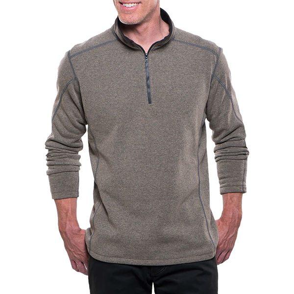 キュール メンズ ジャケット&ブルゾン アウター Revel 1/4-Zip Sweater Oatmeal