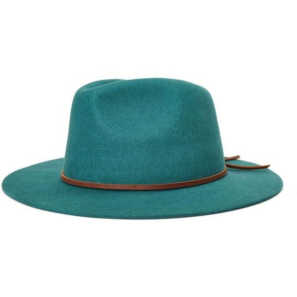 ブリクストン メンズ 帽子 アクセサリー Wesley Fedora Emerald