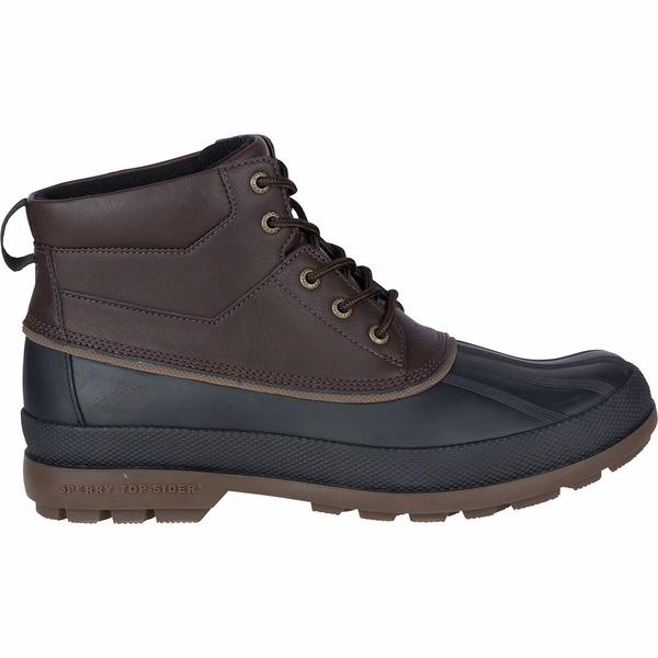 トップサイダー メンズ ブーツ&レインブーツ シューズ Cold Bay Chukka Boot - Men's Amaretto/Black