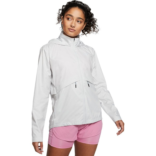 ナイキ レディース ジャケット&ブルゾン アウター Essential Hooded Jacket - Women's Photon Dust/Reflective Silver