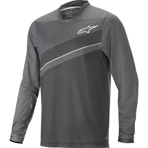 アルパインスターズ メンズ サイクリング スポーツ Alps 8.0 Long-Sleeve Jersey - Men's Dark Shadow/Black