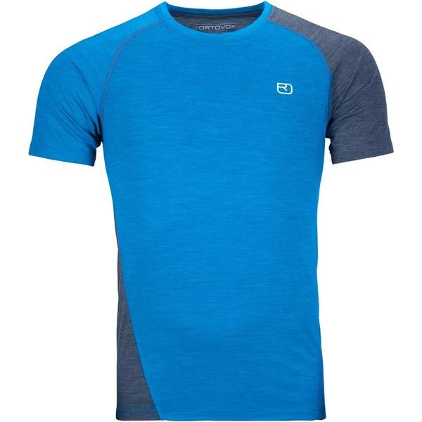 オルトボックス メンズ シャツ トップス 120 Cool Tec Fast Upward T-Shirt - Men's Safety Blue Blend