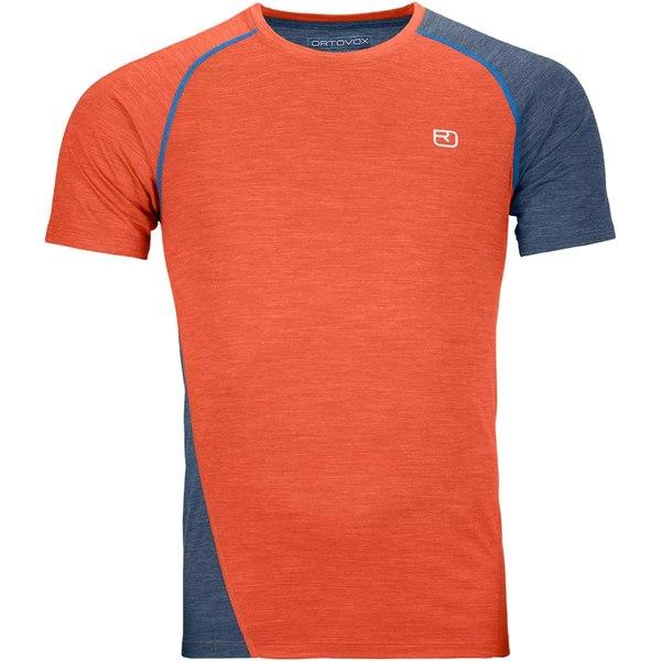 オルトボックス メンズ シャツ トップス 120 Cool Tec Fast Upward T-Shirt - Men's Desert Orange Blend