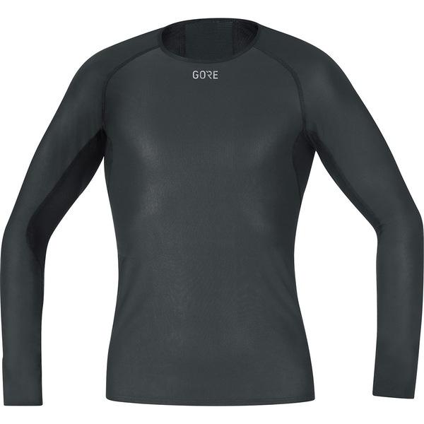 ゴアウェア メンズ シャツ トップス Windstopper Base Layer Long Sleeve Shirt - Men's Black