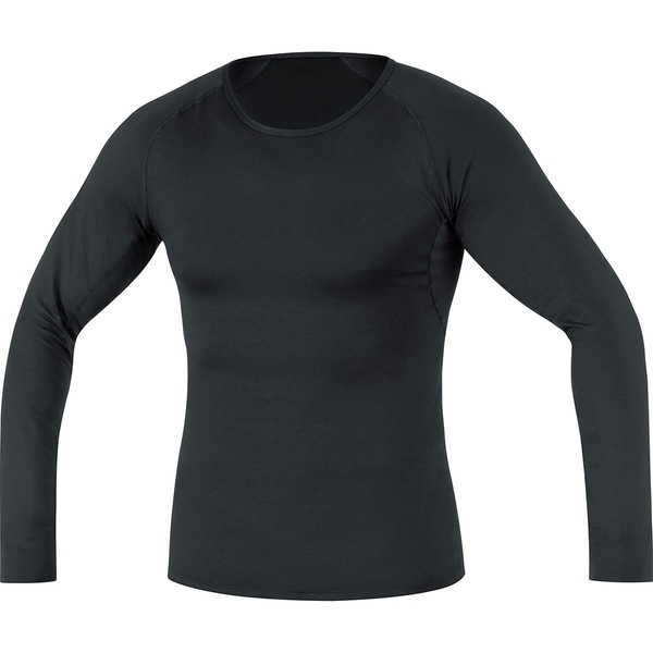ゴアウェア メンズ シャツ トップス Base Layer Long Sleeve Shirt - Men's Black