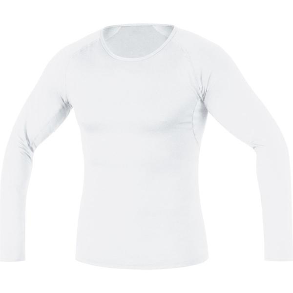 ゴアウェア メンズ シャツ トップス Base Layer Long Sleeve Shirt - Men's White