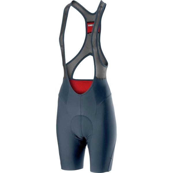 カステリ 新作通販 レディース スポーツ 全店販売中 サイクリング Dark Steel Blue Bib Short 2 Women's - Premio 全商品無料サイズ交換