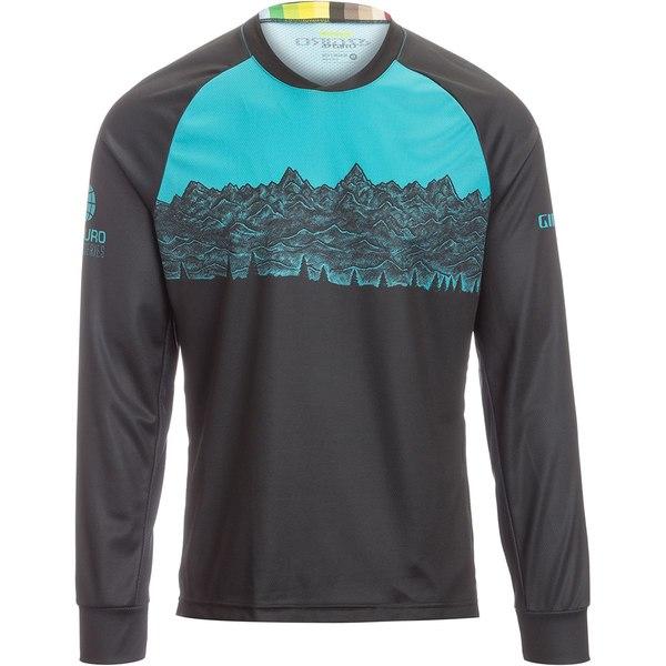 ジロ メンズ サイクリング スポーツ Roust Long-Sleeve Jersey - Men's Black Ews