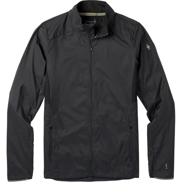 スマートウール メンズ ジャケット&ブルゾン アウター Merino Sport Ultra Light Jacket - Men's Black