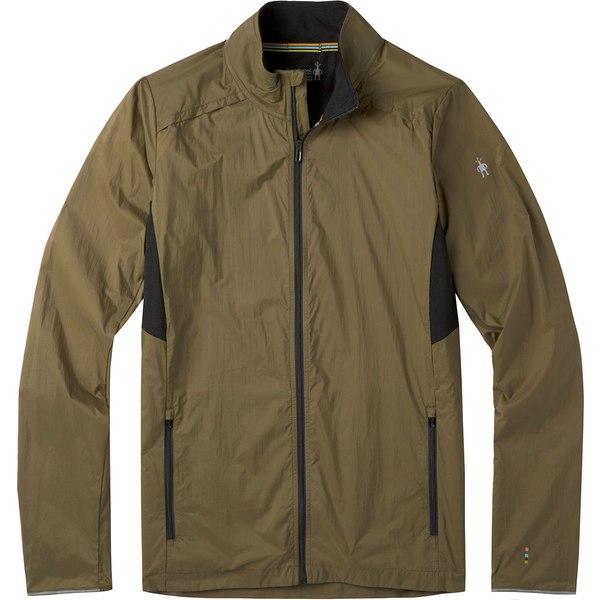 スマートウール メンズ ジャケット&ブルゾン アウター Merino Sport Ultra Light Jacket - Men's Military Olive