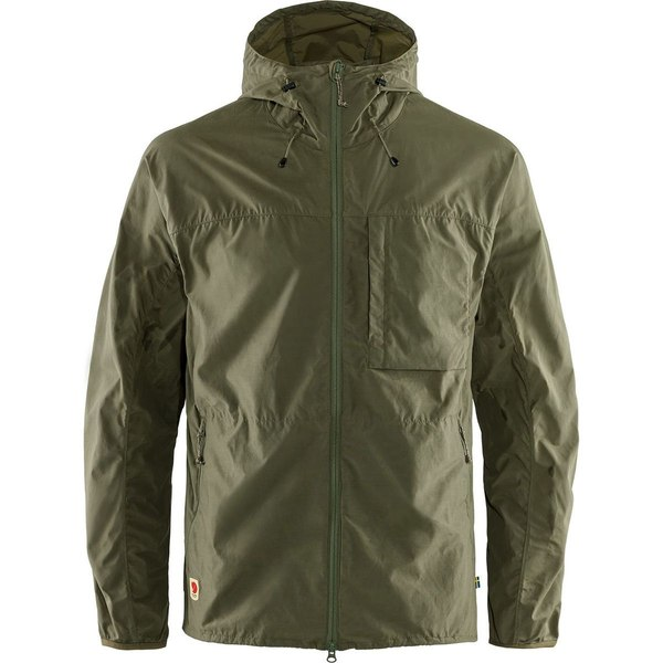 フェールラーベン メンズ ジャケット&ブルゾン アウター High Coast Wind Jacket - Men's Green