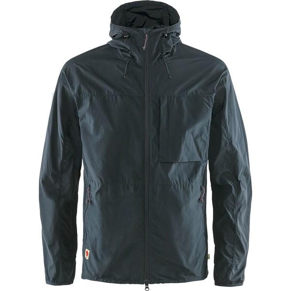 フェールラーベン メンズ ジャケット&ブルゾン アウター High Coast Wind Jacket - Men's Navy