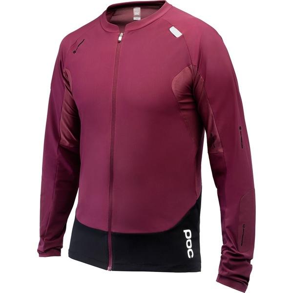 ピーオーシー メンズ サイクリング スポーツ Resistance Pro Enduro Long-Sleeve Jersey - Men's Propylene Red
